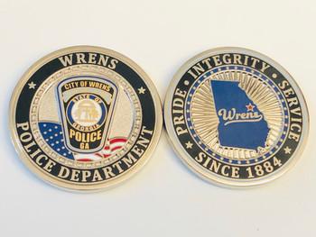 WRENS POLICE GEORGIA COIN