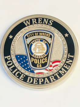 WRENS POLICE GEORGIA COIN