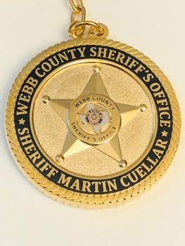 WEBB CTY SHERIFF TEXAS KEYTAG