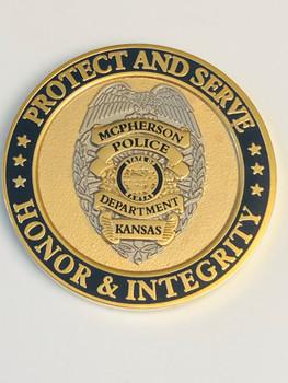 MCPHERSON POLICE KANSAS COIN 2