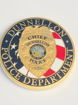 DUNNELLON POLICE FLORIDA COIN
