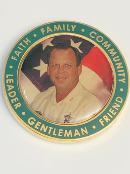LAKE COUNTY FL CHRIS DANILELS MEMORIAL COIN