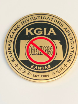 KANSAS GANG INVESTIGATORS ASSOC COIN