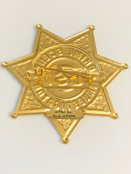 CSI LAS VEGAS CRIME SCENE BADGE