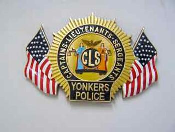 YONKERS POLICE CAPTAIN LIEUTENANT & SERGEANT PLAQUE