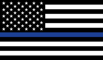 US Thin Blue Line Sticker