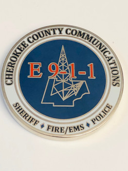 CHEROKEE CTY NORTH CAROLINA E-9-1-1 COIN