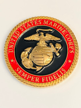 MARINE WARRANT OFFICER COIN