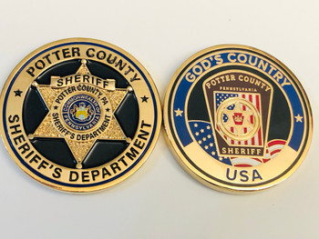 POTTER CTY SHERIFF PA COIN