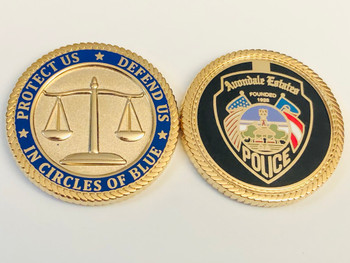 AVONDALE ESTATES GEORGIA POLICE COIN