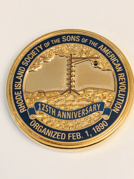 SONS OF AMERICA 125TH COIN