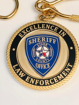 STARR CTY SHERIFF TEXAS KEYTAG