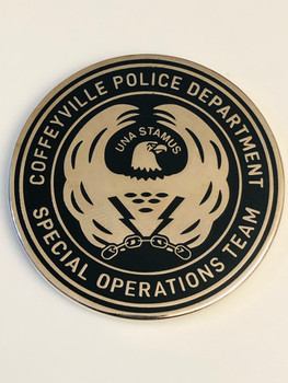 COFFEYVILLE KANSAS SWAT COIN