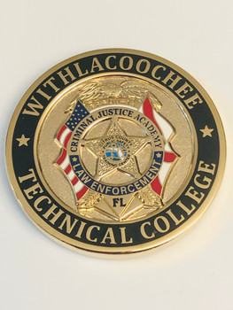 WITHLACOOCHEE COLLEGE LAW ENFORCEMENT COIN