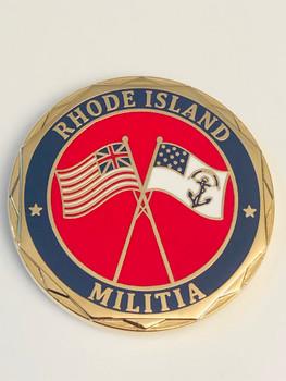RHODE ISLAND MILITIA COIN