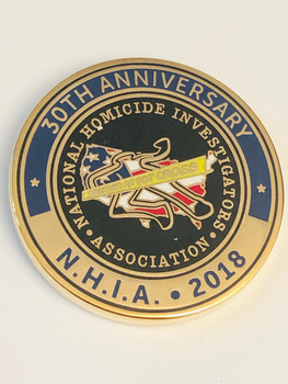 NATIONAL HOMICIDE 30TH COIN