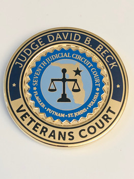 VETERANS COURT COIN