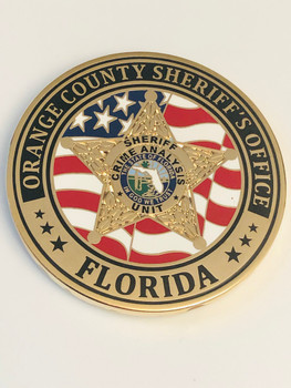 ORANGE CTY SHERIFF FLORIDA CRIME ANALYSIS COIN