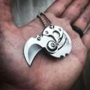 Steel Neck Claw Folding Knife