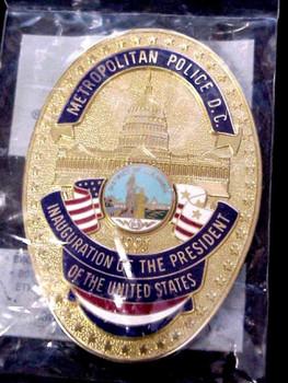 DC Metropolitan Police 1997 Presidential Inaugural # 4552