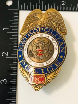 DC Metropolitan Police 1993 Presidential Inauguration #2663