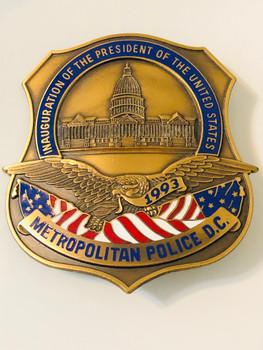 DC Metropolitan Police 1993 Presidential Inauguration #421