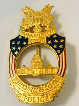 U.S. Capitol Police 2000 MILLENNIUM BADGE
