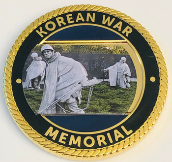 KOREA WAR MEMORIAL COIN