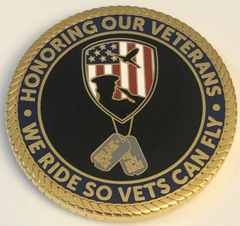 HONORING OUR VETERANS COIN
