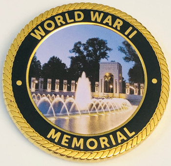 WORLD WAR II MEMORIAL COIN