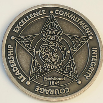 ORANGE CTY SHERIFF FL KEVIN BEARY COIN