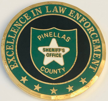 PINELLAS CTY SHERIFF FL COIN