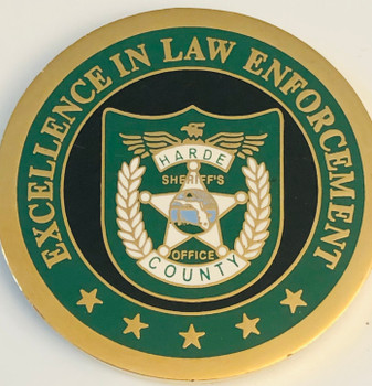 PINELLAS CTY SHERIFF FL EXCELLENCE COIN