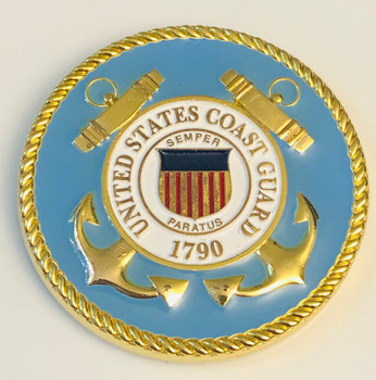 U.S. COAST GUARD COIN DENVILLE NJ