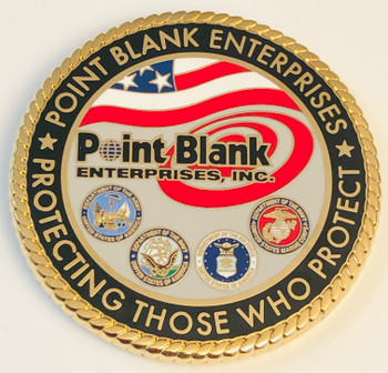 PROTECTING THOSE WHO PROTECT POINT BLANK COIN