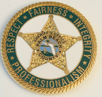 PALM BEACH CTY SHERIFF UNITED COIN