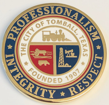 CITY OF TOMBALL LEADERSHIP COIN