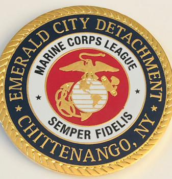MARINE CORPS COIN EMERALD CITY DETACHMENT