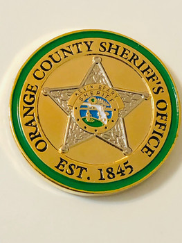 ORANGE CTY SHERIFF BEARY COIN