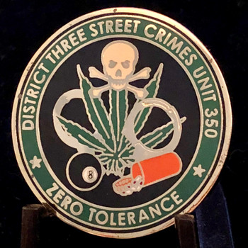 STREET CRIMES DIST. 3  HILLSBOROUGH SHERIFF  CHALLENGE COIN RARE
