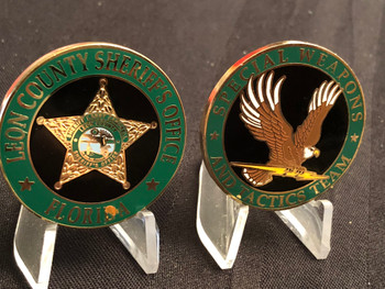 LEON CTY SHERIFF FL SWAT  COIN