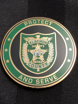 ALACHUA SHERIFFS OFFICE PROTECT & SERVE COIN 2009