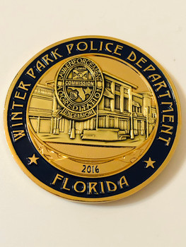 WINTER PARK POLICE FL  COIN