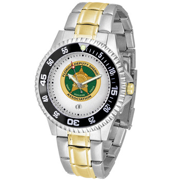 COMPETITOR MENS TWO-TONE WATCH