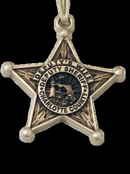 CHARLOTTE CTY SHERIFF FL CHARM 925 SILVER