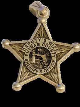 PUTNAM CTY SHERIFF FL CHARM 925 SILVER