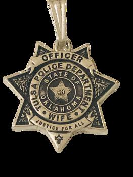 TULSA POLICE CHARM