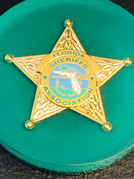 FLORIDA SHERIFF ASSOCIATION PAPERWEIGHT