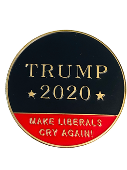 TRUMP 2020  MAKE THEM CRY AGAIN COIN