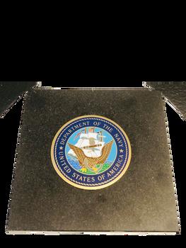 U.S. NAVY SEAL  GRANITE PAPERWEIGHT